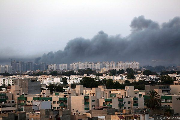 Wieder Zerstörungen in der Hauptstadt Tripolis