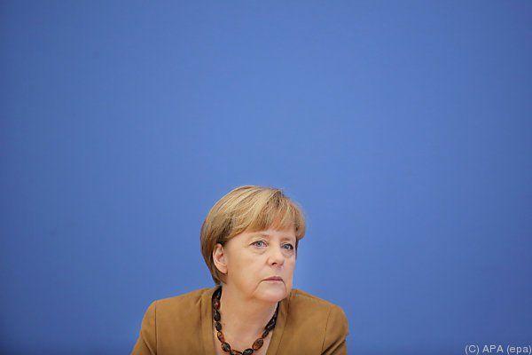 Merkel zeigte kein Verständnis