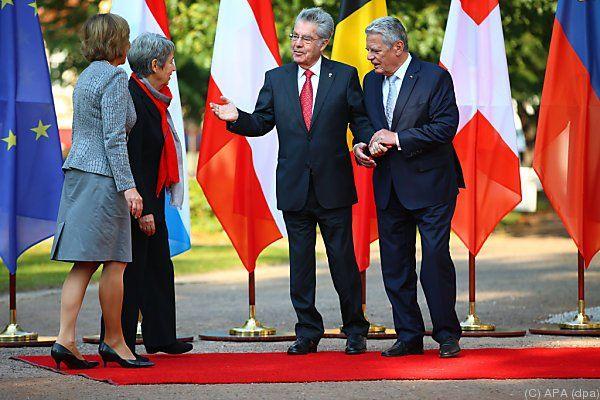 Heinz Fischer zu Besuch in Deutschland