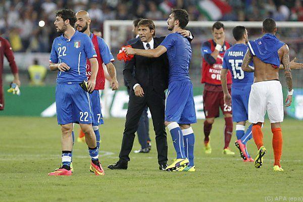 Perfekter Einstand für Trainer Conte