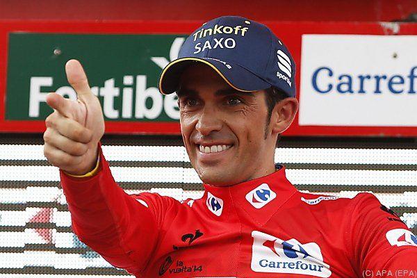 Contador hat 1:36 Minuten Vorsprung
