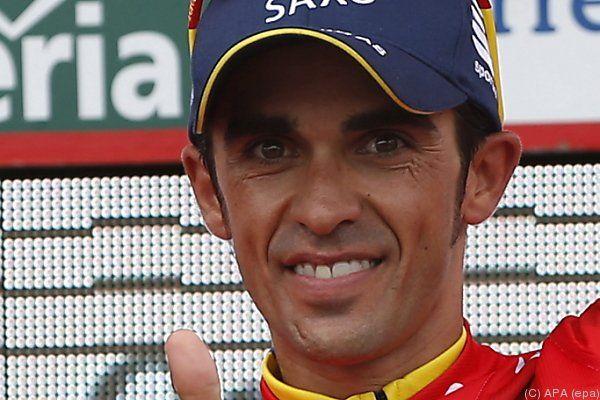 Contador vor Vuelta-Triple