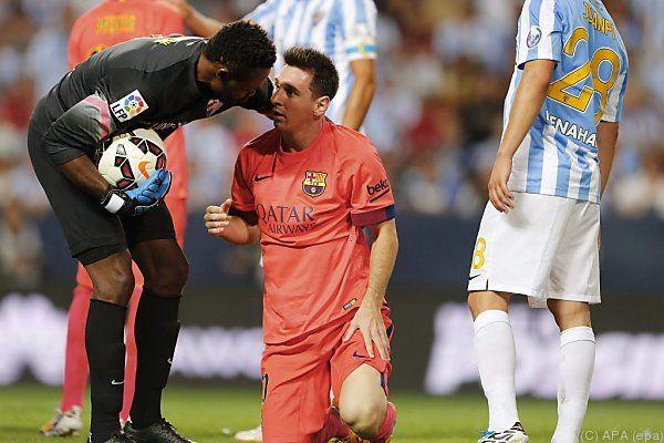 Lionel Messi erzielte diesmal keinen Treffer