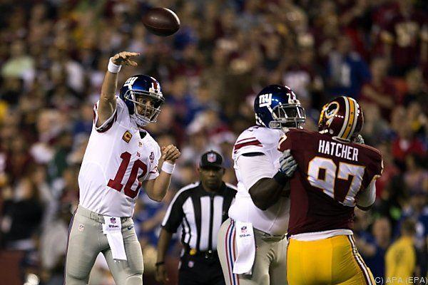 Manning warf fünf Touchdowns