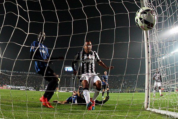 Juve-Stürmer trifft zum 1:0 in Bergamo