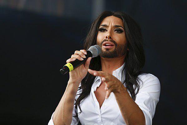 Conchita Wurst wird diesmal nicht singen, sondern sprechen
