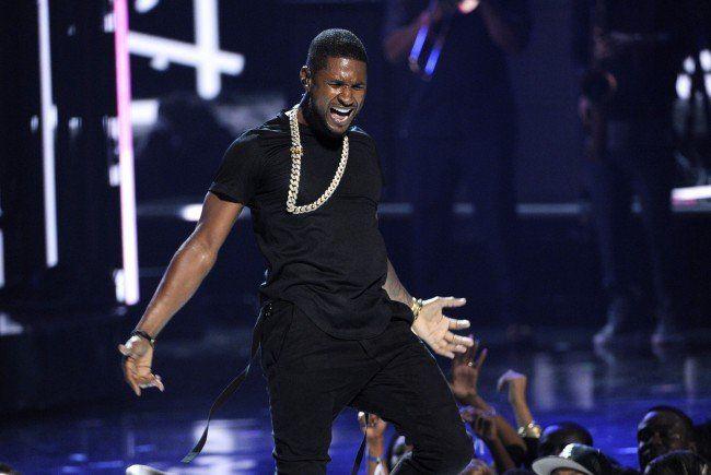 Usher kommt nach Wien