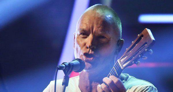 Sting tritt in Wien gemeinsam mit Paul Simon auf.