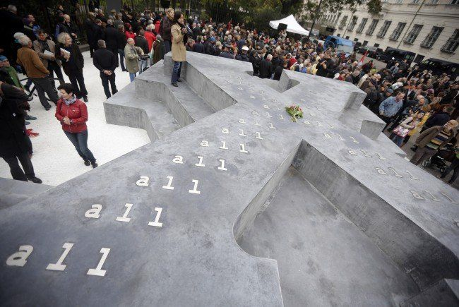 Denkmal für Wehrmachtsdeserteure in Wien eröffnet