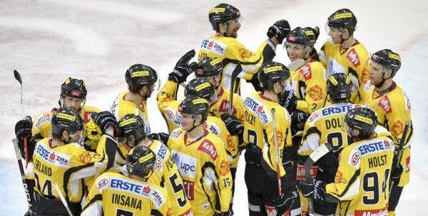 Eishockey: Vienna Capitals weiter vier Punkte vor Graz