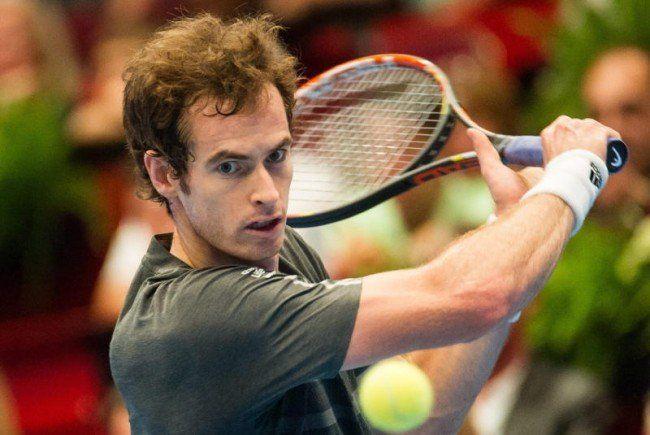 Erfolg in Wien für den Schotten Andy Murray.
