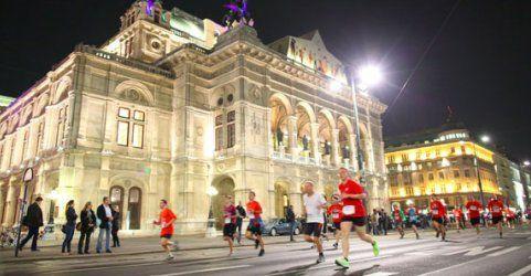 Neuer Teilnehmerrekord beim Vienna Night Run 2014 in Wien