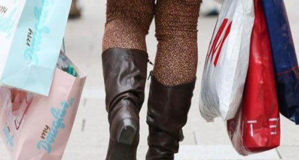 Heuer ist der Umsatz durch Shopping-Touristen gesunken.