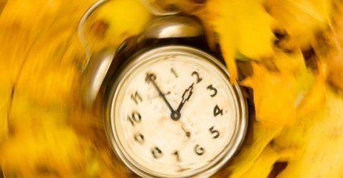 Die Zeit wird wieder umgestellt