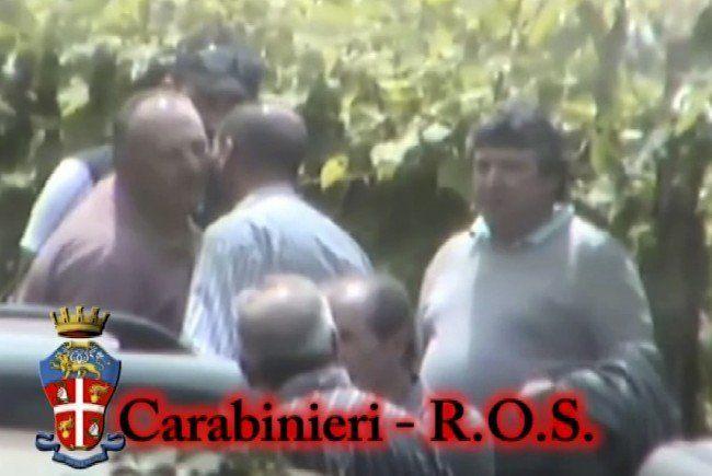 Erstmals gelang der italienischen Polizei eine Aufnahme eines Treffens der Ndrangheta.