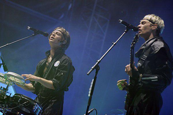 Die schwedische Rock-Band Mando Diao am Nova Rock - in Wien überzeugte sie nicht ganz