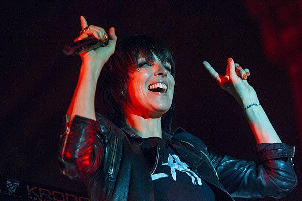 Nena bei einem Konzert im Juli 2014 in Graz - Wien wird noch auf sie warten müssen