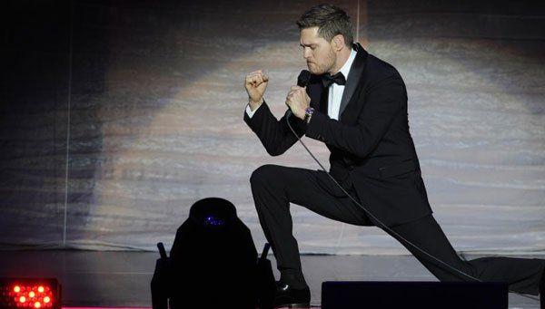 Michael Bublé versuchte es mit ein bisschen mehr Bad Boy - irgendwie.