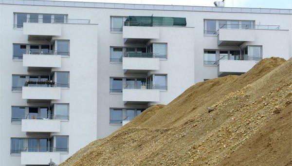 Zum einen wird in Wien fleißig gebaut - zum anderen stehen aber immer noch viele Wohnungen einfach leer.