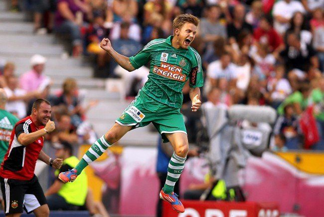 Rapid Wien-Spieler Lukas Grozurek wechselt zum FC Admira Wacker Mödling.