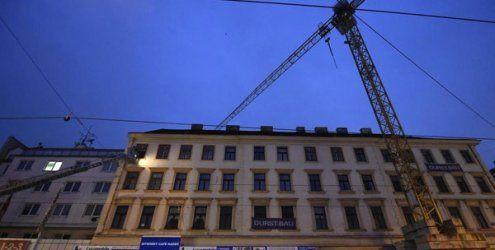 """Die Baupolizei erstattet Anzeige nach EInsturz auf der """"MaHü"""""""