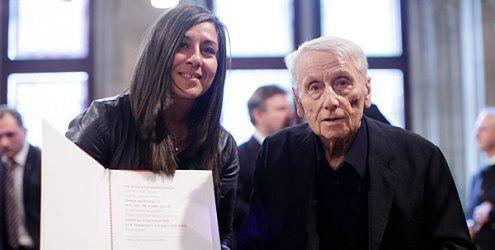 Ehrenzeichen für Harry Glück: Alt-Erlaa-Architekt wird geehrt