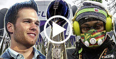 Der Schöne & das Biest - Kampf um den Ring im Super Bowl XLIX
