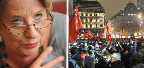 Scharfe Kritik an Ursula Stenzel