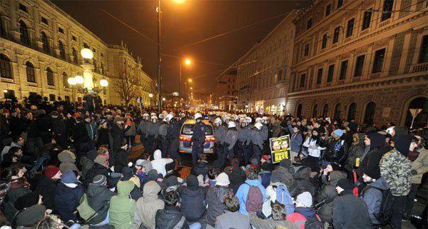 """Offensive gegen Rechts"" plant Blockaden im 1. Bezirk."
