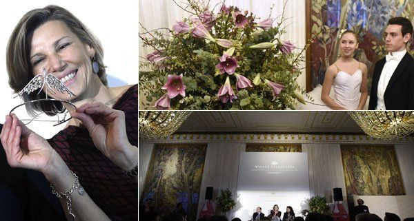 Der Wiener Opernball findet am 12. Februar 2015 statt.