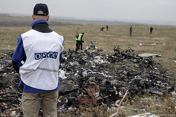 MH17-Absturzstelle in der Ostukraine
