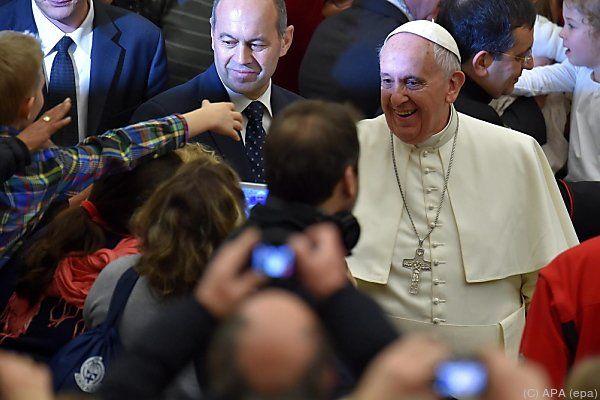 Generalaudienz des Papstes