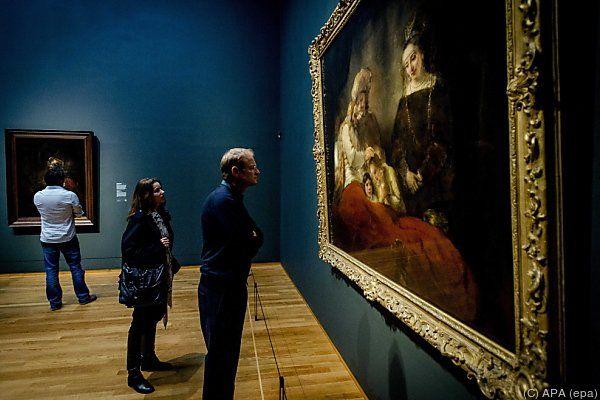 Rembrandts Spätwerk wird ab 12. Februar gezeigt