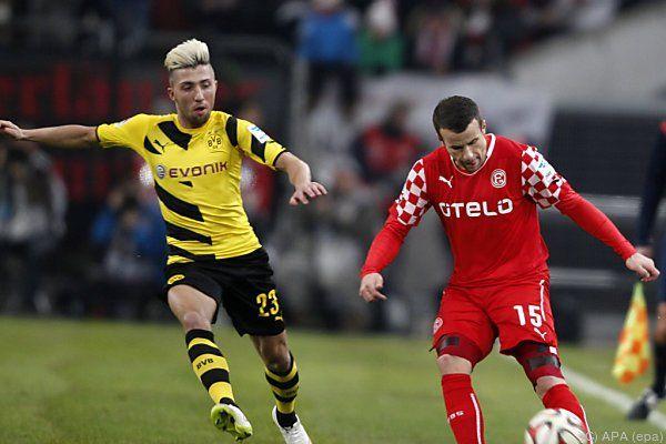 Salzburg gab Kampl an Dortmund ab