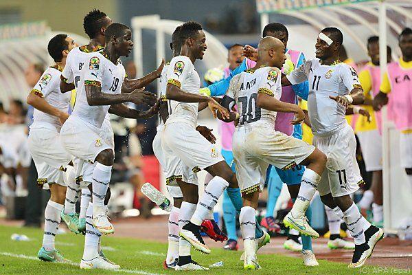 Am Ende durfte Ghana jubeln