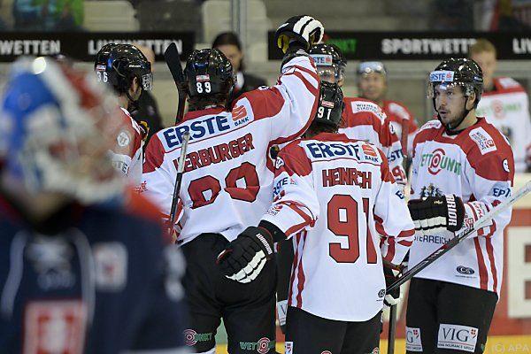 Österreich jubelt über das 1:0 gegen die Slowaken
