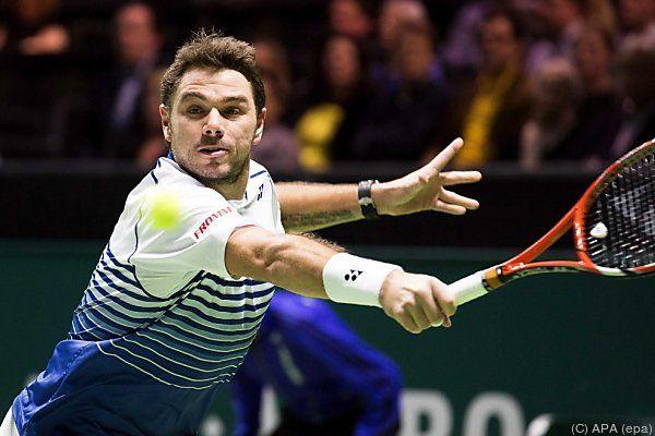 Wawrinka schied beim Turnier in Marseille aus