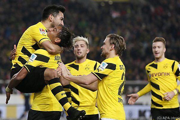 Die Dortmunder mit drittem Sieg in Folge