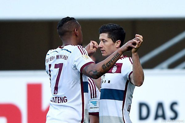 Jubel beim FC Bayern