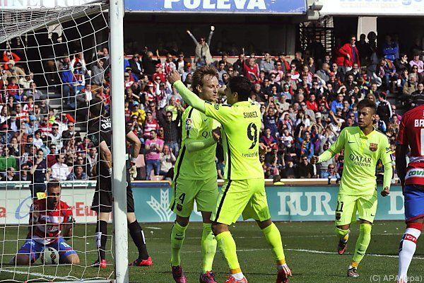 Rakitic erzielte das Tor zur 1:0-Führung für Barcelona