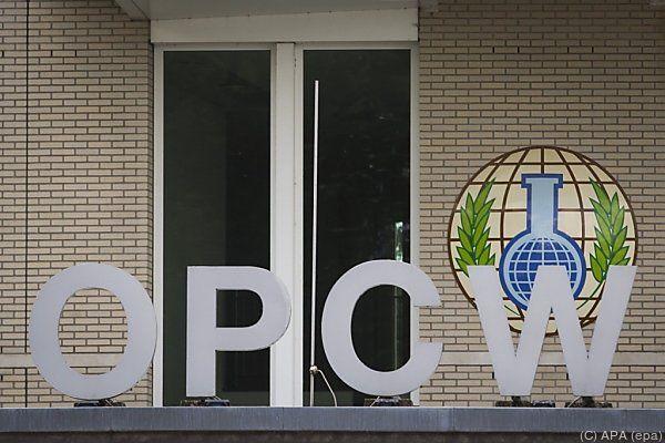 Die OPCW ist für die Vernichtung der Waffen zuständig