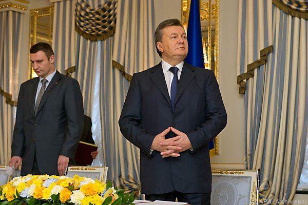 Janukowitsch kommt nicht mehr an seine Konten