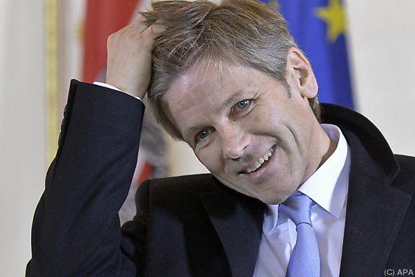 Ostermayer vertrat den kranken Bürgermeister
