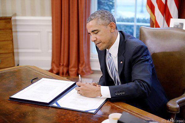 US-Präsident Obama verlangt vom Iran Garantien