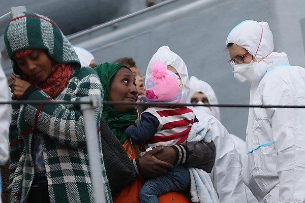 Italien wird von Flüchtlingen überrannt