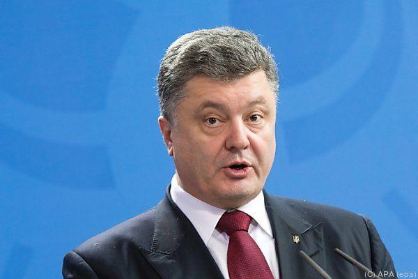 """Poroschenko will """"Sonderstatus"""" gewähren"""
