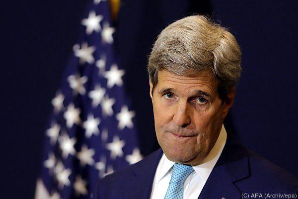 US-Außenamt realtiviert Kerry-Aussagen