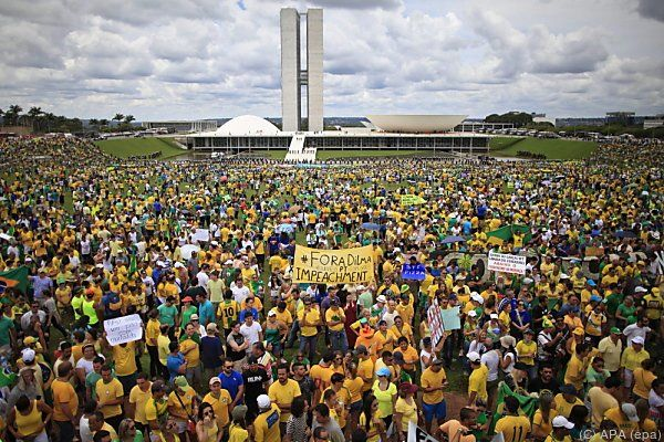 Brasilianer sind erzürnt