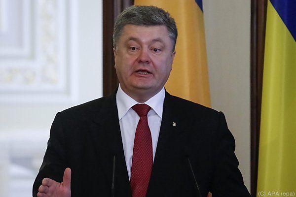 """Poroschenkos Gesetzesentwurf beinhaltet """"ukrainische"""" Wahlen"""