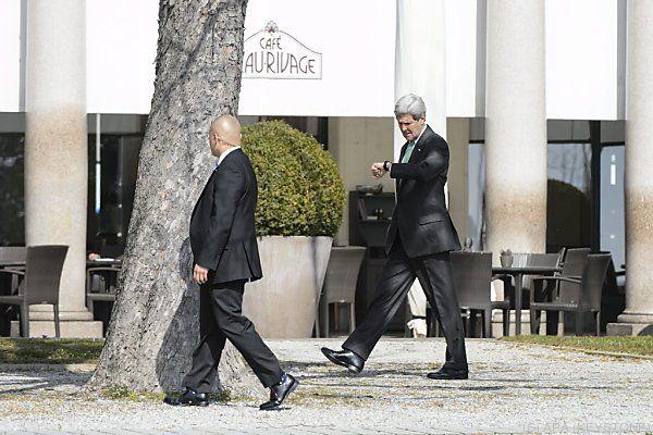 Kerry zeigte sich bei Gesprächen zuversichtlich